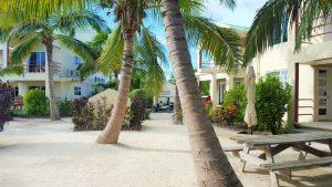 Tres Cocos Resort Grounds