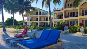 Tres Cocos Resort San Pedro Belize Private Beach